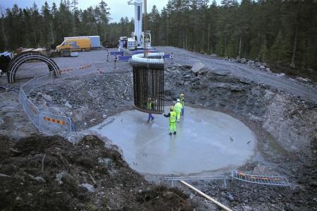 23. Fundamentets stålkonstruktion.