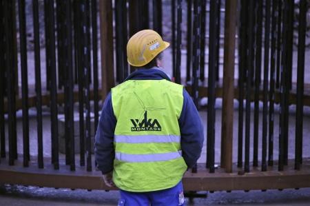28. Fundamentets stålkonstruktion.