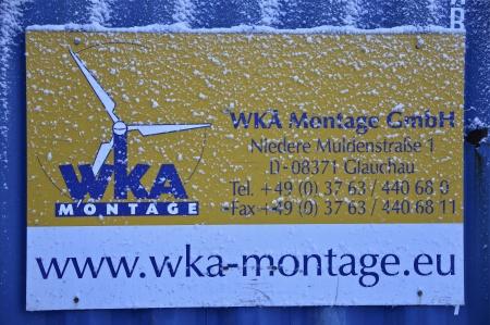 29. Fundamentet byggs av tyska företaget WKA Montage