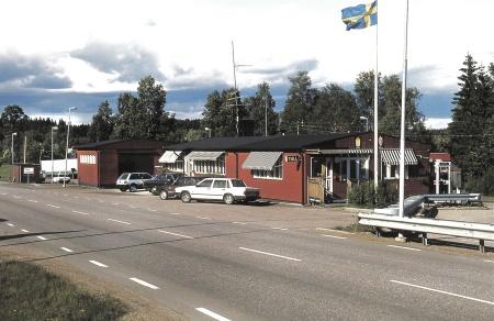 Tullstationen i Hån, foto okänd