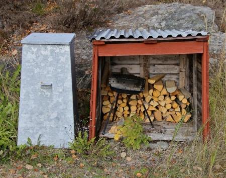 Ordning och reda ger trivsel vid grillplatsen.