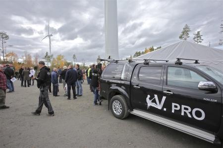 Företaget V.PRO informerade om sina Höghöjdstjänster.