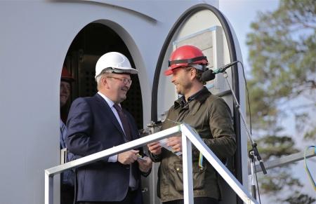 VD Thomas Linnard tackade Landshövdingen.