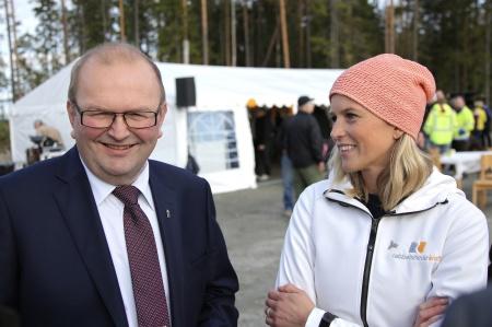 Kenneth Johansson och Emma Askengren.