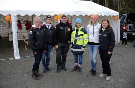 Team Rabbalshede Kraft kunde pusta ut efter väl genomfört arrangemang.