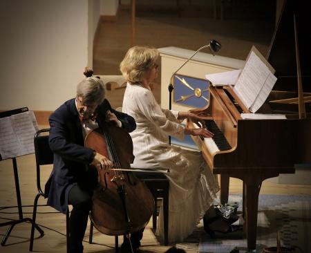 Lars-Inge Bjärlestam - cello, Ulrika Hebbe - piano