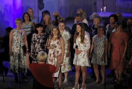Solisterna Vilde Thelberg och Amanda Thorell