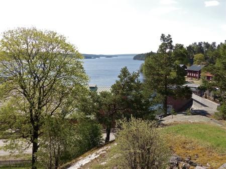Utsikt över sjön Lelång.