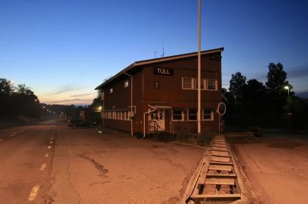 Gamla tullstationen i Hån hade gjort sitt.