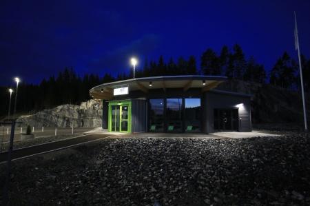 KGH:s nya byggnad var också klar.