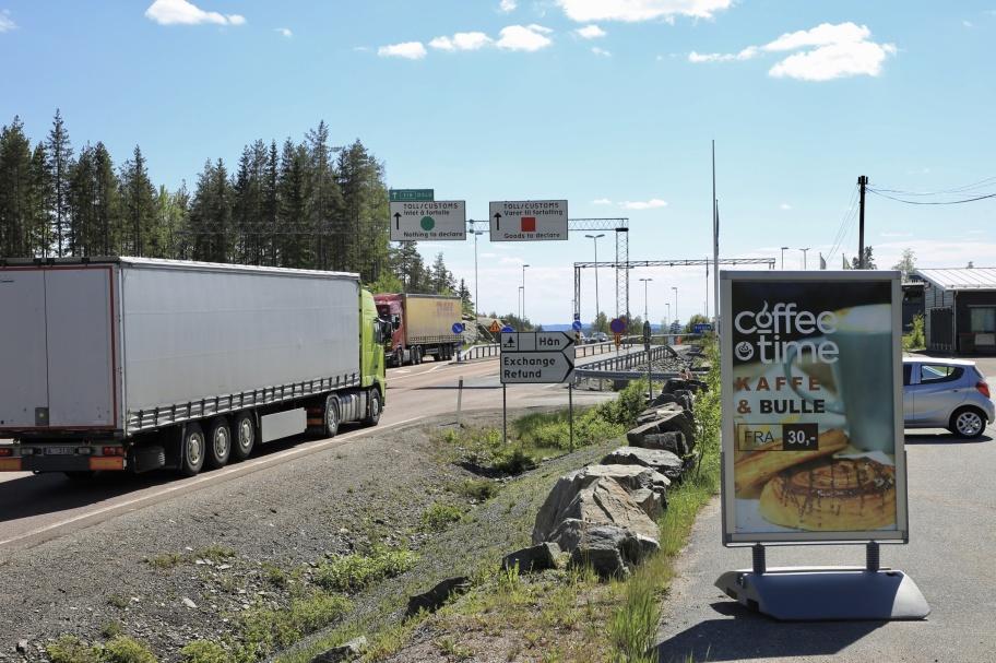 EUROTAX vid Gränsen kan komma att fungera som rastplats för cyklisterna på Unionsleden.