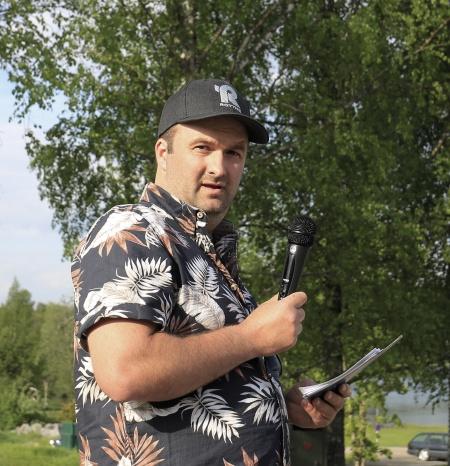 Michael Andersson, ny ordförande i båtklubben.