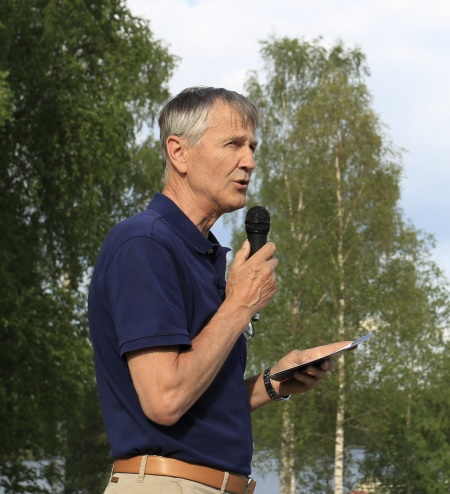 Örjan Gruvborg, projektledare för byggandet av ställplatserna för husbilar.