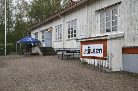 Förskolan Holken i lokalerna där gamla Stommens skola fanns tidigare.