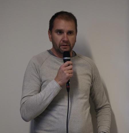 Anders Eriksson från föräldrakooperativet var mycket nöjd med de nya lokalerna.