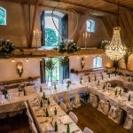 Bröllopsdukning a la Vallens
