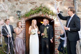 Bröllopspaket på Vallens Säteri utanför Laholm i Södra Halland (norra skåne)