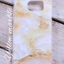 Mobilskal - Samsung s6 & s5 - Samsung 5s, stones - Yellow marble