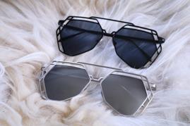 Solglasögon - Tokyo - Silver