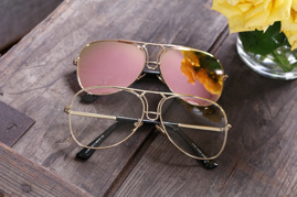 Solglasögon - Sidney - Rosé