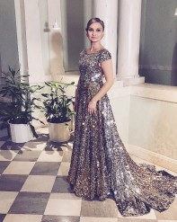 Ebba Busch Thor  Nobelfesten 2017 - Dress : Frida Jonsvens