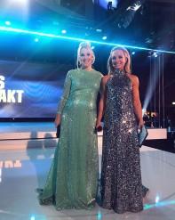 Anna Brolin & Frida Nordstrand Fotbollsgalan 2017 - Dresses : Frida Jonsvens