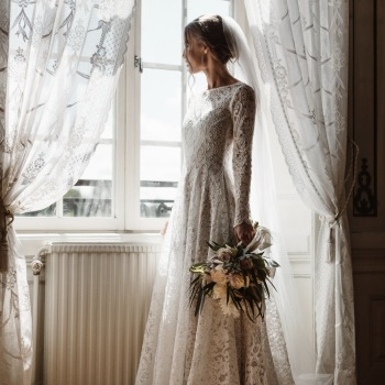 Weddingdress : Frida Jonsvens - Photo : Fabian Wester