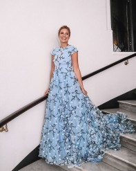 Photo: Lisa Höök - Elle-galan 2019 , Jessica Almenäs - Dress : Frida Jonsvens