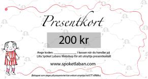 Presentkort Anna (från 50-500)