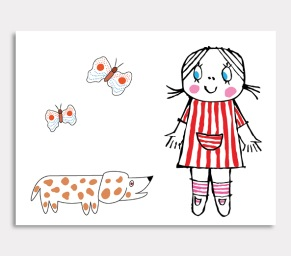 Lilla Anna & Lilla Annas hund