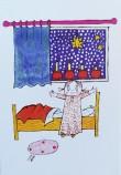 Lilla Anna jul vykort