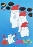 Laban och Labolinas jul vykort