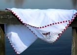 Laban handduk baby (röd)