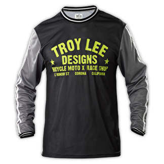 Tröja TROY LEE Super Retro Gray - Medium