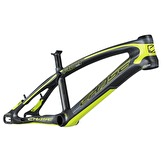 BMX-ram race CHASE ACT 1.0 Svart/Neongul MATT