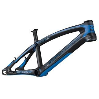 BMX-ram race CHASE ACT 1.0 Svart/Blå MATT - PRO