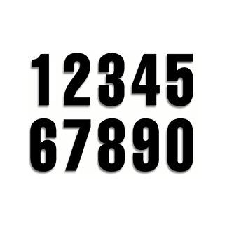 Siffror svarta