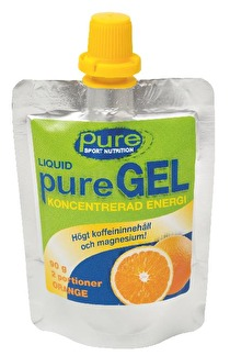 ENERGIGEL PURE NUTRITION ORANGE - PURE Gel orange portion 90 gr 12st