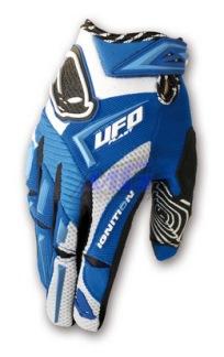 Handskar UFO MX-22 barn Blå - Blå / S