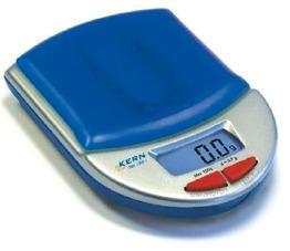 KERN TEE 150-1    Pocketvåg - KER TEE 150-1, 150g/0,1g