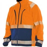 Jobman Fleecejacka Varsel orange/marin