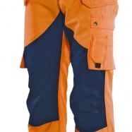 Jobman Hantverksbyxa Varsel Orange/marin