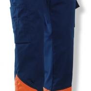 Jobman Servicebyxa Varsel Marin/orange