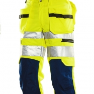 Jobman Piratbyxa Varsel Gul/marin