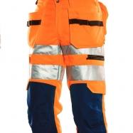 Jobman Piratbyxa Varsel Orange/marin