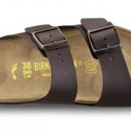 Birkenstock Arizona brun smal