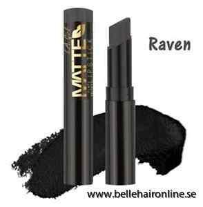 la matte flat velvet lipstick raven