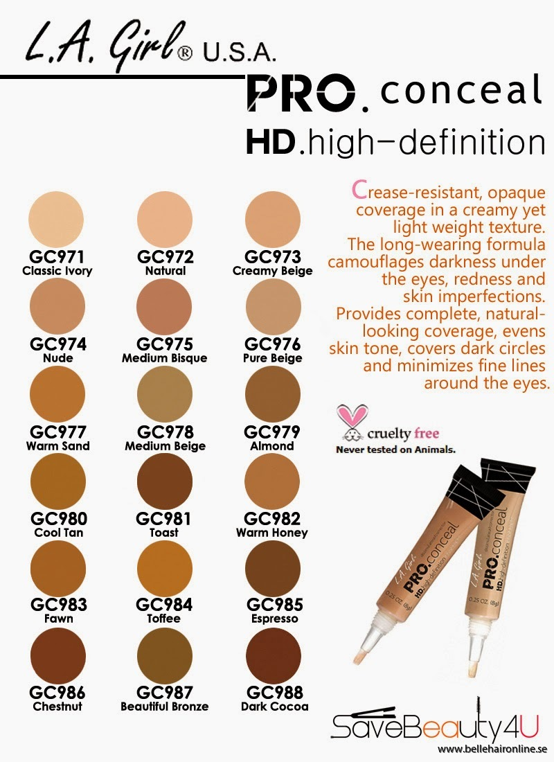 la girl concealers guide