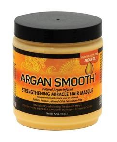 Argan Smooth Strengthening Miracle Hair Masque - Argan Smooth Strengthening Miracle Hair Masque