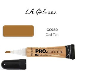 La Girl Pro HD Concealer- Cool Tan - La Girl Pro HD Concealer- Cool Tan